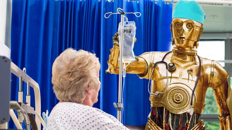 It's a widely spread belief that, eventually, all human doctors will be replaced by robots. Some say as soon as 2035.